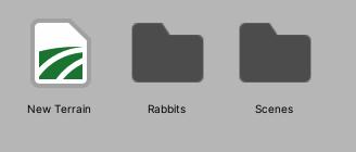 Unity katalog króliczka w Unity