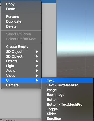 unity - dodanie pola tekstowego do canvas